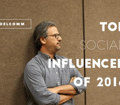 Top Social Media Influencer of 2016
