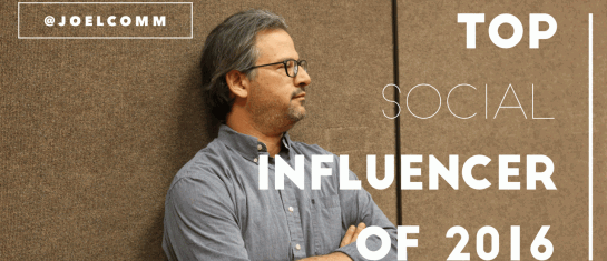 Top Social Media Influencer of 2016